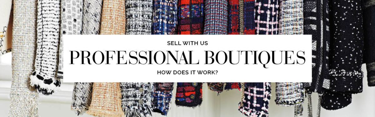 Professional boutiques, sell with The Chic Selection