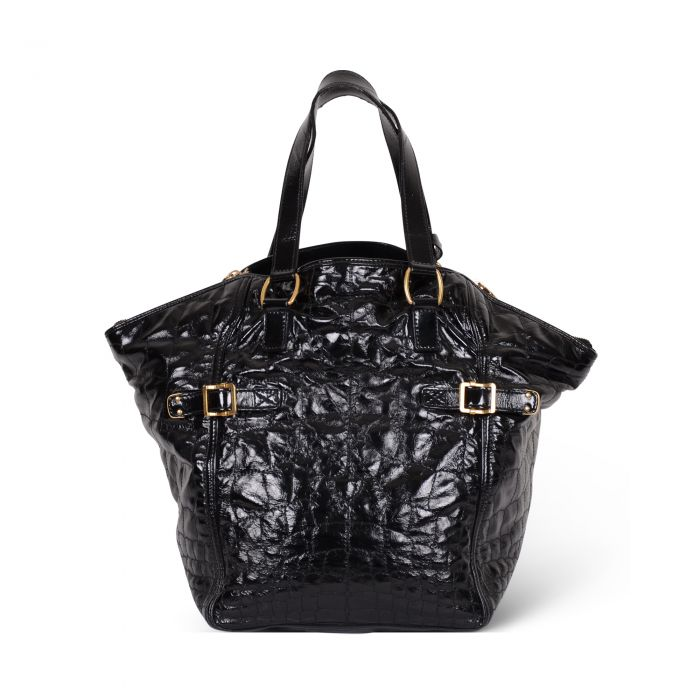 Downtown patent leather Tote -2