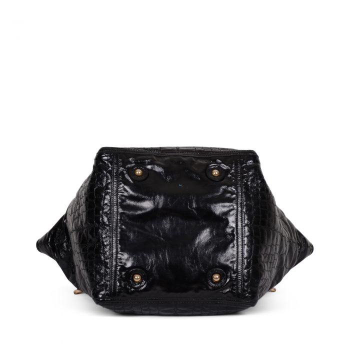 Downtown patent leather Tote -4