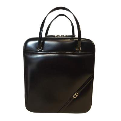 Black patent Bag-0