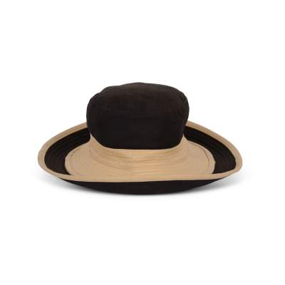 Wool and leather Motsch Hat -0