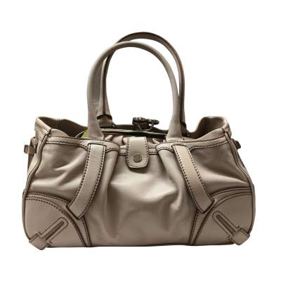Beige leather Bag-3