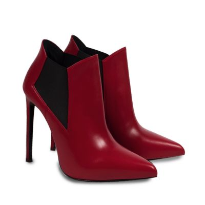 Leather ankle Boot -1