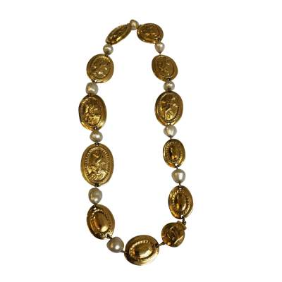 Vintage Oval Necklace-0