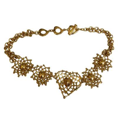 Gold Necklace-3