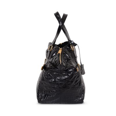 Downtown patent leather Tote -9