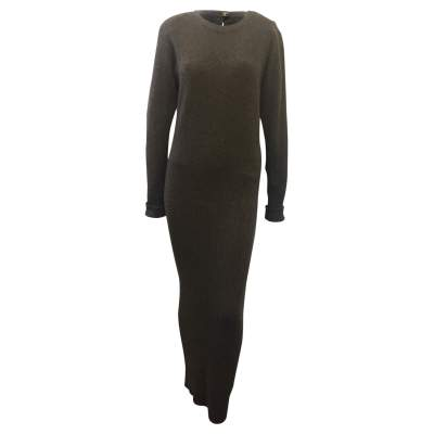 100% cashmere knit Dress-0