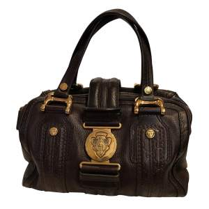 Grained leather Bag-0