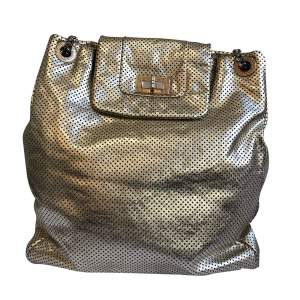 New gold leather Bag -0