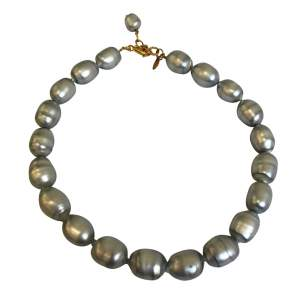 Gold and pearl Necklace -0
