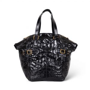 Downtown patent leather Tote -0