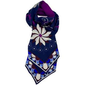 Silk & Wool Twilly Scarf-0