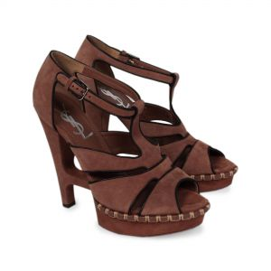 Open toe suede platform Sandals-0